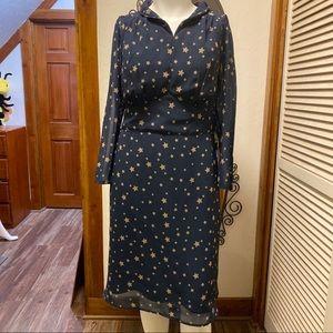 New eShatki Navy Star Dress - 22W